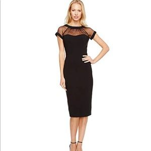 e45ad968 Women Maggy London Illusion Yoke Crepe Sheath Dress on Poshmark